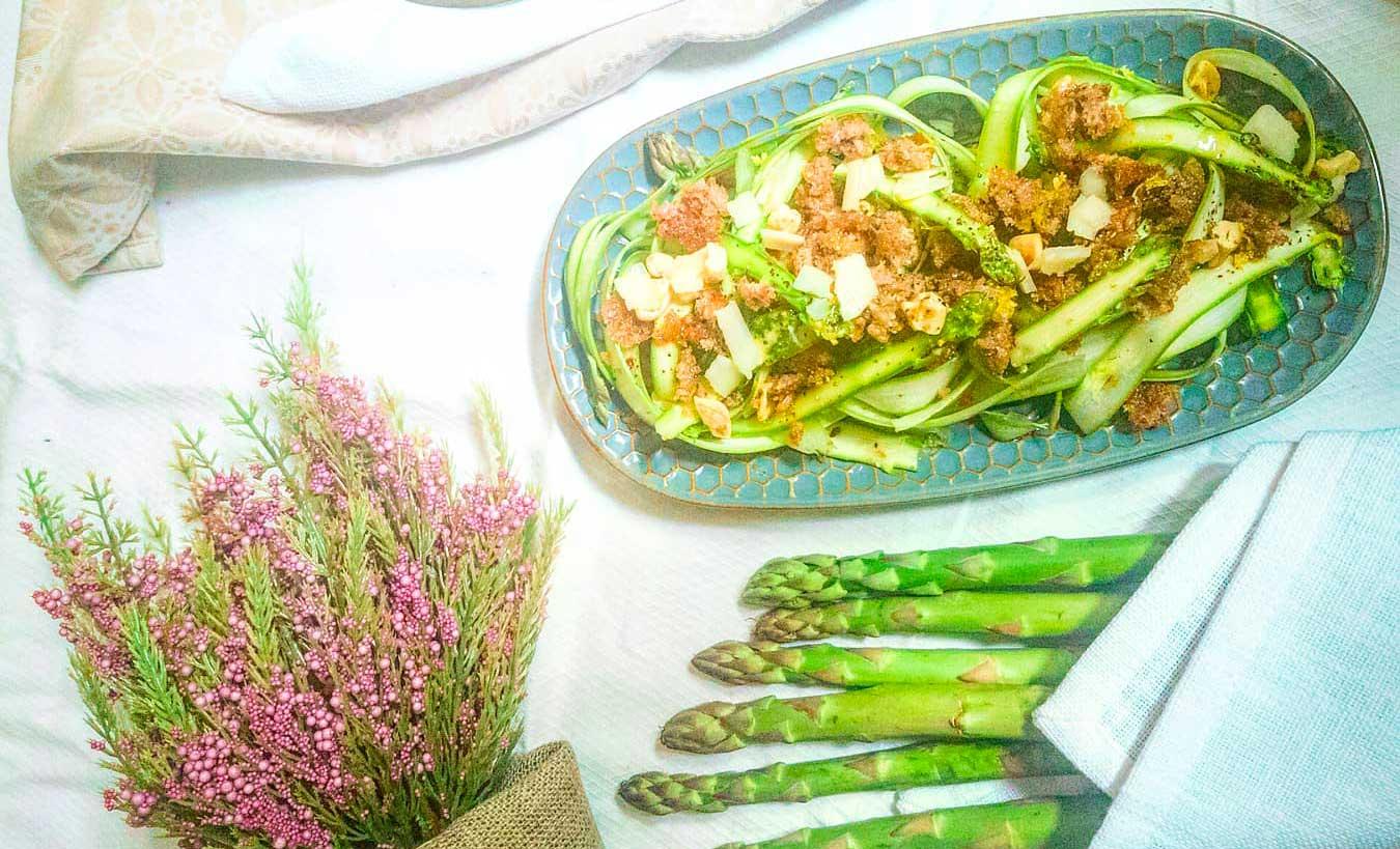 carpaccio di asparagi